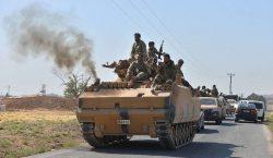Suriye hükümet birlikleri Kobani'ye girdi