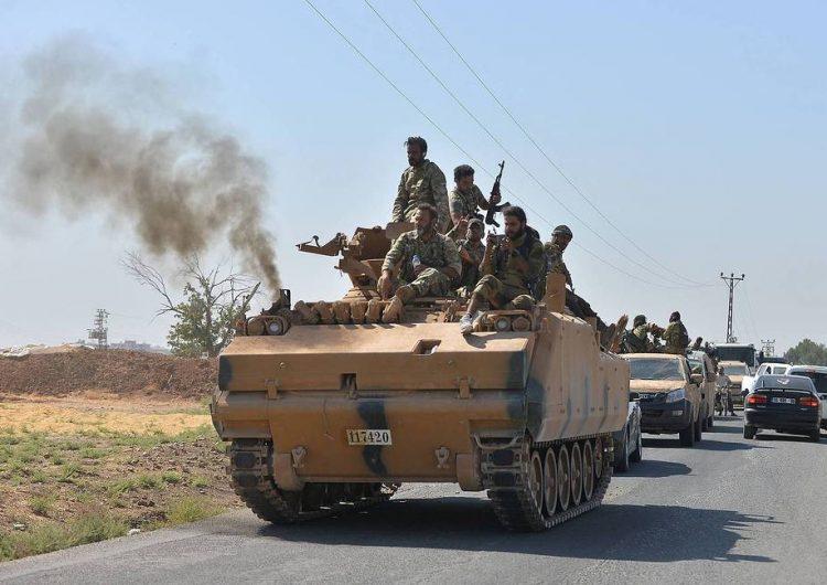 Սուրիական կառավարական զօրքերը մտեր են Քոբանի