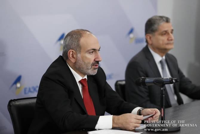 Соглашение с Сербией стало еще одним шагом по расширению сотрудничества ЕАЭС: Пашинян