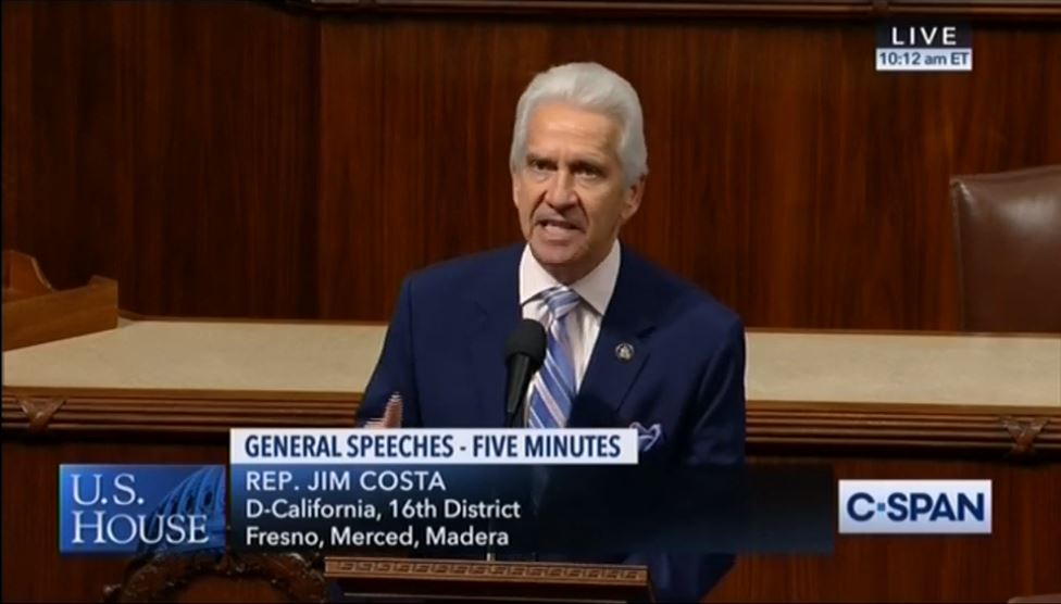 Rep. Costa Slams Turkey for Recent Actions and Urges Support of  Genocide of Armenians Recognition