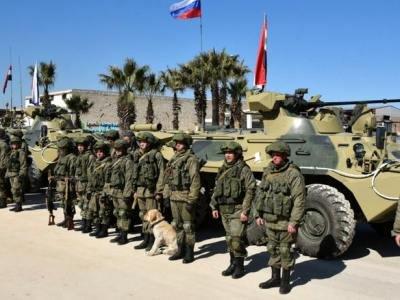 Սուրիա ժամաներ են շուրջ 300 ռուս ռազմական ոստիկաններ