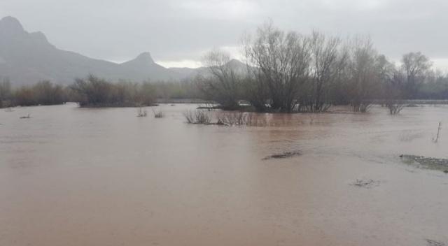Արևմտյան Հայաստանի Երզնկայի շրջանում տեղացած տարափը հեղեղել է Քուրթ գետը