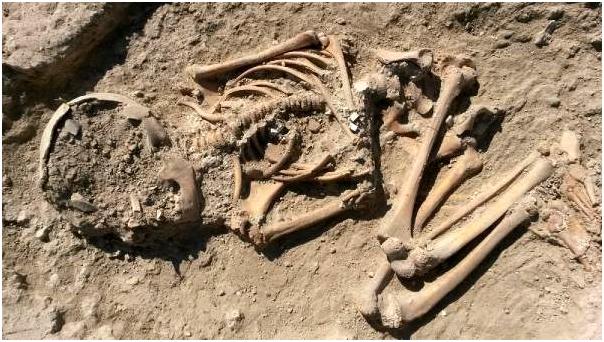 Արեւմտեան Հայաստանի Մալաթիոյ Արսլանթեփէ բլուրէն գտնուեր է 5700 տարուայ կմախք