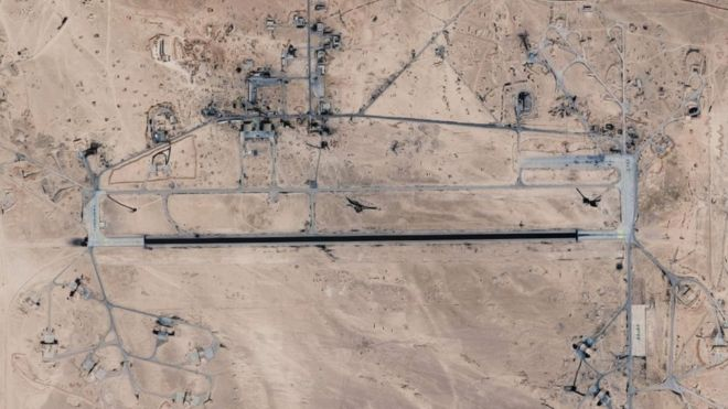 Israeli armed forces strike 'dozens' of targets in Syria