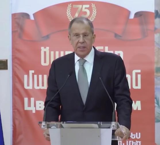 Lavrov: Yerevan'ın sürdürdüğü dış politika dengelidir.