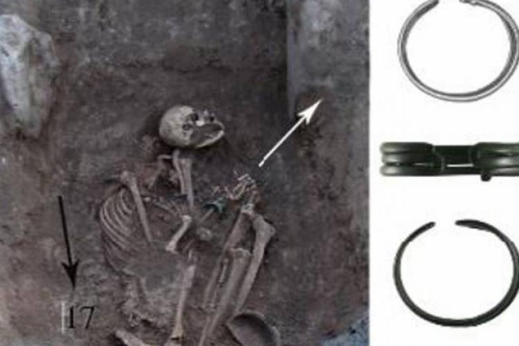 В Армении были найдены останки женщины-война возрастом 2600 лет