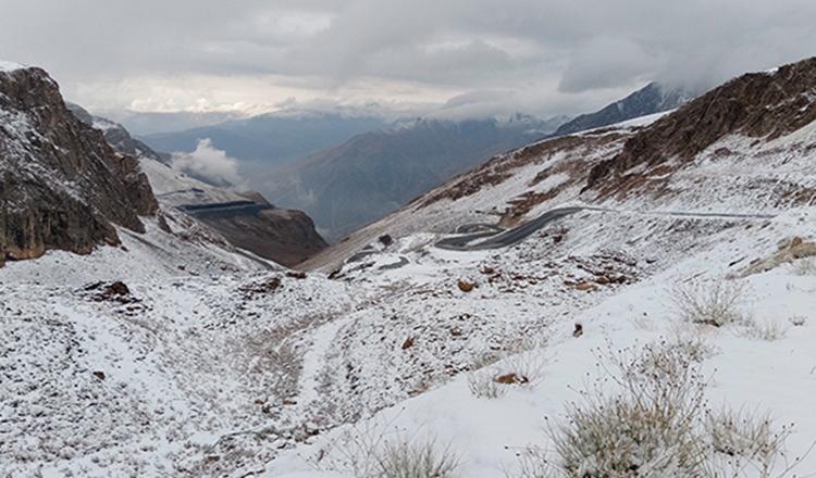 Արեւմտեան Հայաստանի Կարապետի լեռնանցքի շրջանին առաջին ձիւնը տեղացած է