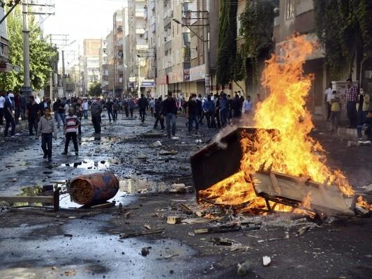 Эрдоган с трудом удерживает контроль над юго-востоком Турции  (Оккупированная Западная Армения  – WAN)