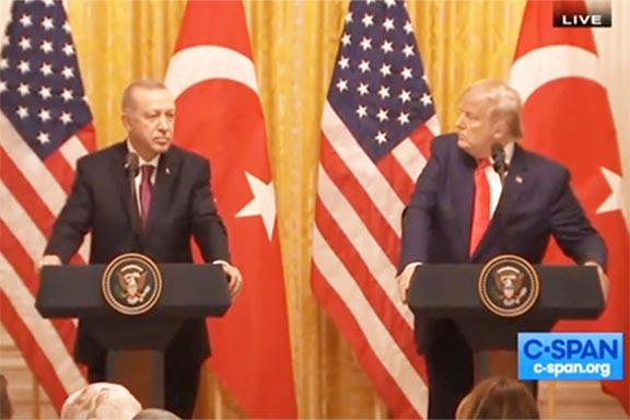 Trump Joins Cellmates Obama, Clinton on Genocide Bow to Turks
