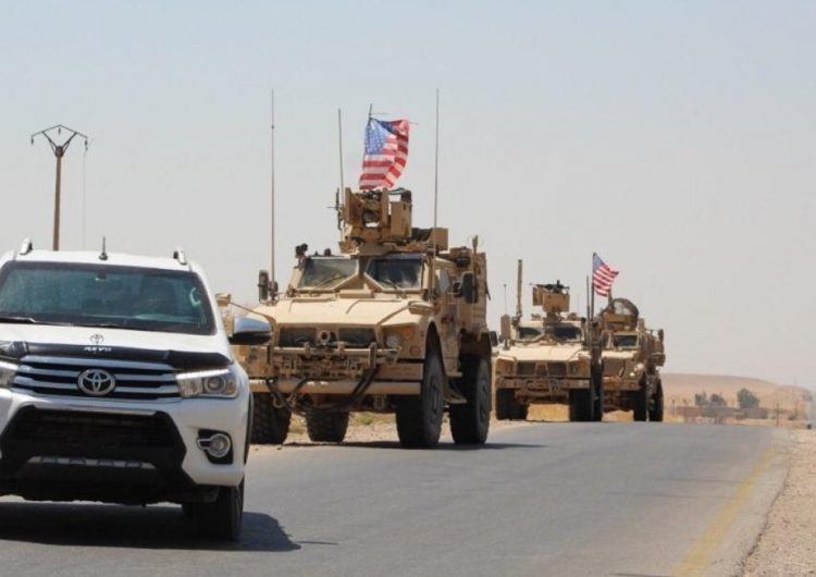 ԱՄՆ-ի զoրախումբը սկսեր է Հասակէի շրջանի նաւթահորերու պարեկութիւնը