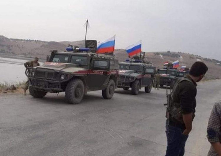 Rusya askeri polisi Suriye'nin kuzeyindeki iki doğrultuda devriye gerçekleştiriyor