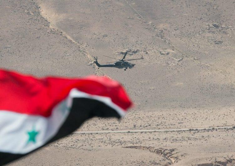 Rusya Federasyonu Hava Kuvvetleri Suriye'nin kuzeyinde devriyede