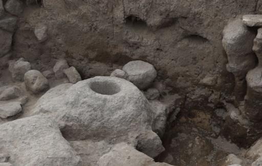 Շիրակի մարզի Լեռնակերտ գիւղի տարածքին բացայայտուեր է մ.թ.ա․ 7-էն 5-րդ դարերու հնավայր մը