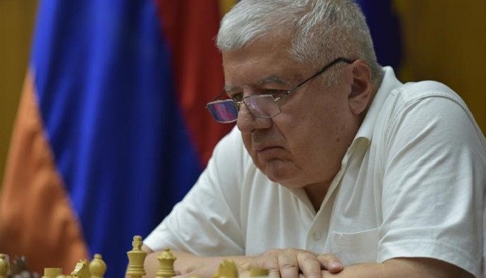 Rafael Vahanyan as the World Champion of Chess Veterans