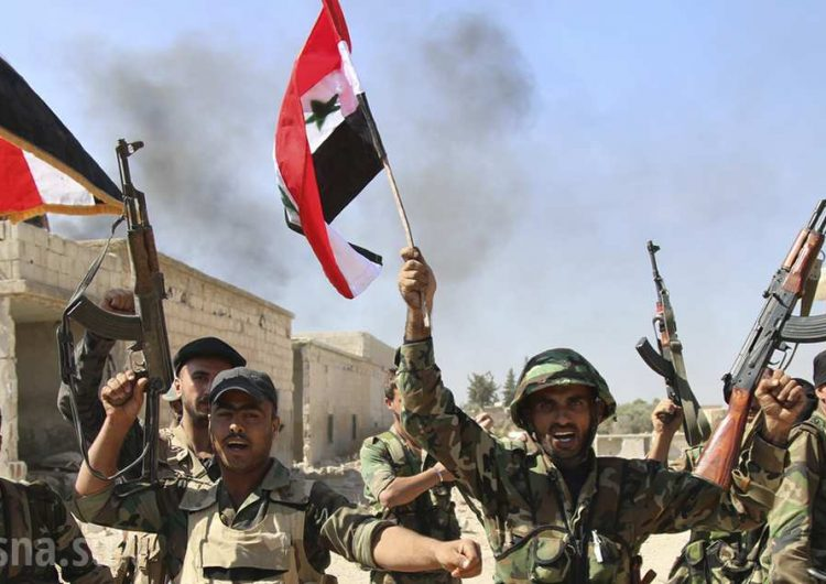 Suriye ordusu İdlib bölgesindeki Kabana şehrine saldırıya geçti