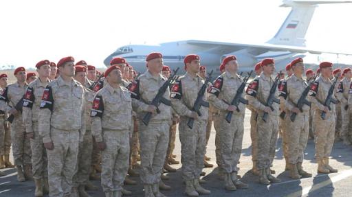 Ռուսաստանի ռազմական ոստիկանութիւնը Սուրիոյ մէջ զբաղցուցեր է ԱՄՆ-ի նախկին ռազմախարիսխը