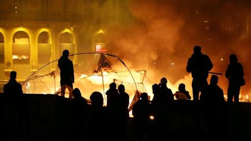 Lübnan başkentinde çatışmalar devam ediyor