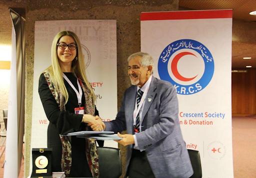 Армянское общество Красного Креста совместно с коллегами из Кувейта  поможет сирийским беженцам