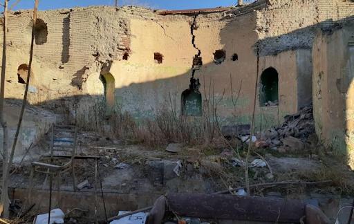Ոչնչանում են Թբիլիսիի Սուրբ Մինաս եկեղեցու ավերակները