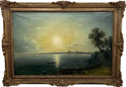 Konstantinopolis'te Osmanlı dönemi Ermeni ressamların resimlerine adanan sergi açıldı
