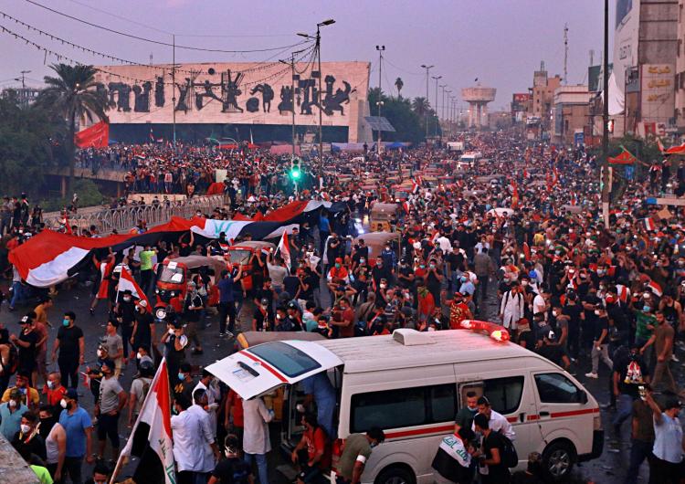 Irak'taki protestolar yeniden başladı