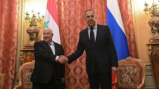 Rusya ve Suriye Dışişleri Bakanları Moskova'da bir araya geldi