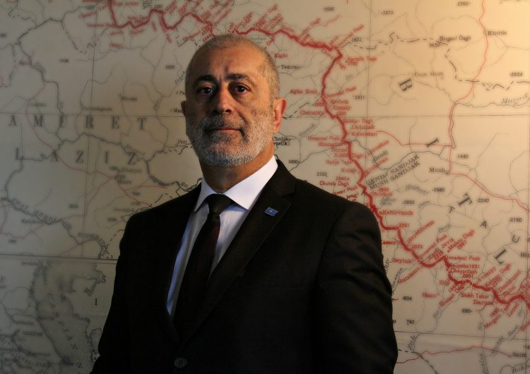 Message from the President of the Republic of Western Armenia Armenak Abrahamyan