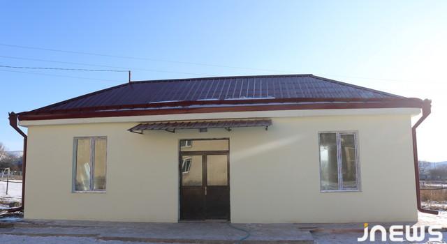 Cavakhk'ın Kartikam köyünde sağlık ocağı inşa edildi ancak 2020 yılında hizmete girecek