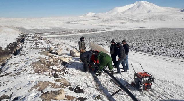 Cavakhk'ın Khorenia köyü içme suyuna kavuşacak