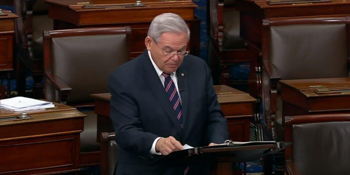 Thank you Senator Bob Menendez!