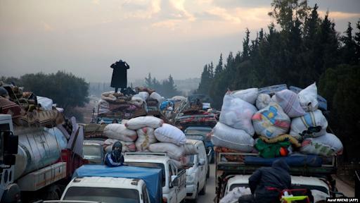Son iki haftada yaklaşık 240.000 Suriyeli yerleşim yerlerini terk etti