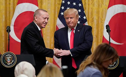 Эрдоган заявил в Лондоне, что операции на севере Сирии будут продолжаться до тех пор, пока территория не будет очищена от «террористов»