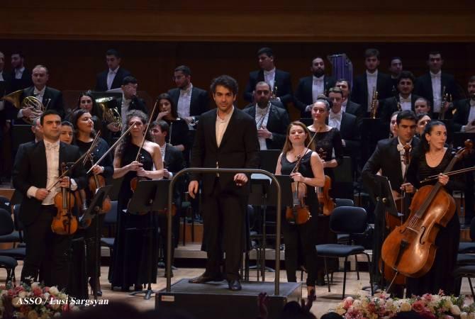 Սիմֆոնիկ նուագախումբը ձայնագրեր է Կոմիտասի բնօրինակ նուագախմբային ստեղծագործութիւնները