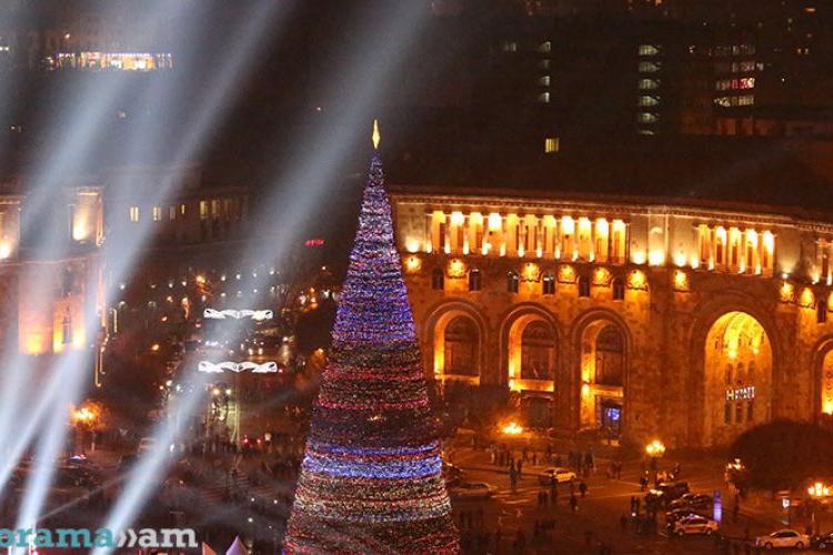 Армения – среди лучших направлений для празднования Нового года