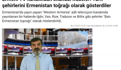 The Turkish press has responded to the news broadcast from Western Armenia