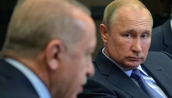 Путин и Эрдоган обсудили Ливию и Сирию