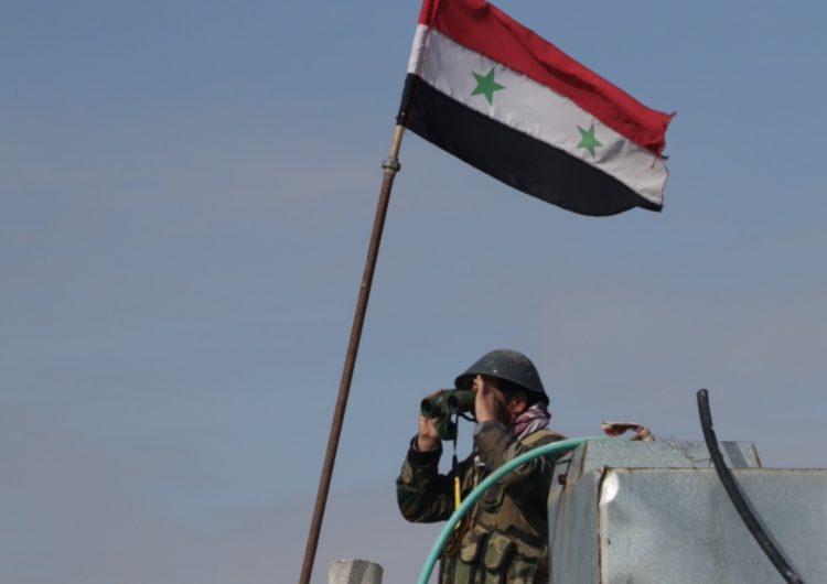 Suriye birlikleri Kamışlı havaalanını bloke etti
