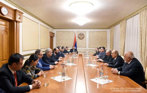 Բակօ Սահակեանն ընդուներ է Հայաստանի Ազգային ժողովի պատուիրակութեան