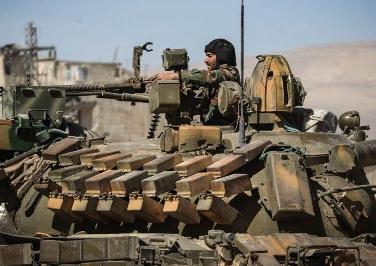 Suriye hükümet güçleri IŞİD'e karşı harekete geçmeye hazırlanıyor