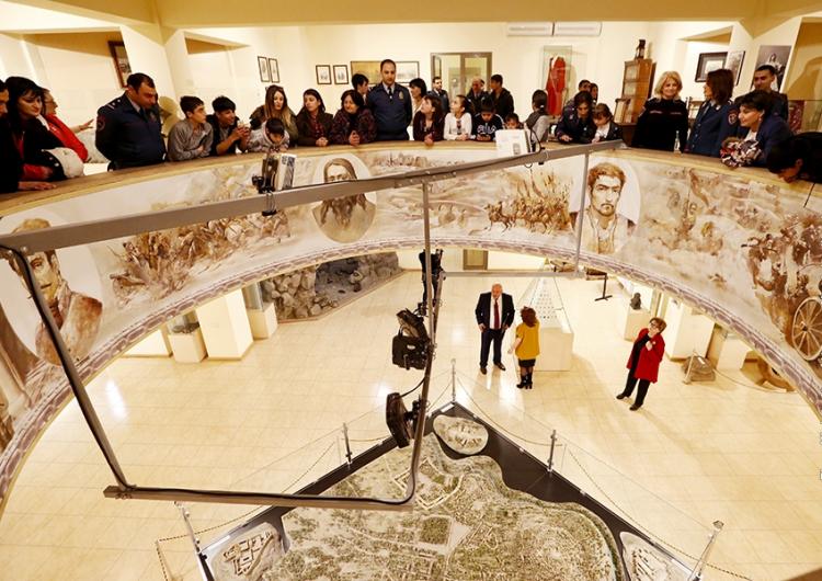 Երեւանի պատմութեան թանգարան այցելած զբօսաշրջիկներուն թիւը նկատելիօրէն աճեր է