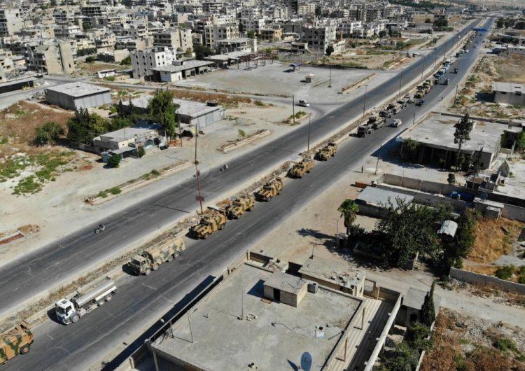 Թուրքական ռազմական շարասյունը հատել է սիրիական սահմանը և շարժվում է Իդլիբի հարավի ուղղությամբ
