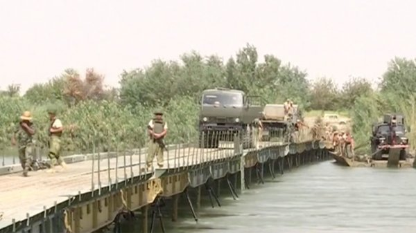 Ռուսաստանն ու Սուրիան աւարտեցին նոր կամուրջի կառուցումը Եփրատի վրայ