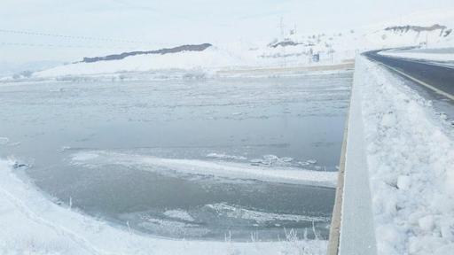 Արածանի գետը սառցակալեր է