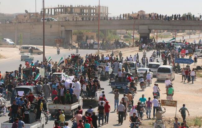 Almost 40,000 people have fled Syria in the past 24 hours