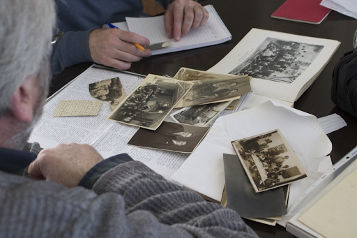 The Los Angeles Times focuses on the items preserved from the Genocide against Armenians