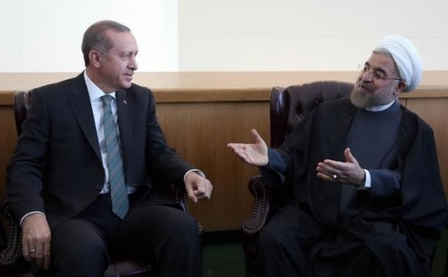 Rouhani, Erdoğan'a ABD'ye karşı bir cephe oluşturmayı teklif etti