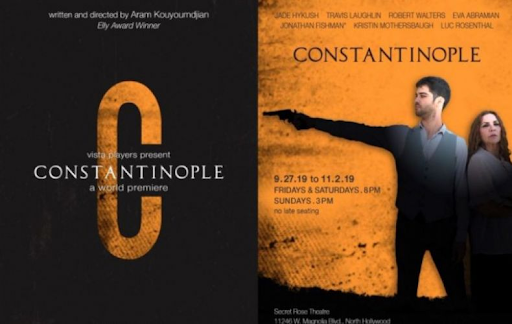 "Kouyoumdjian's ""Constantinople"" Wins 3 Broadway World Awards in Los Angeles"