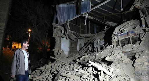 Երկրաշարժ Արեւմտեան Հայաստանի տարածքին