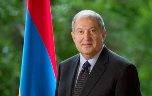 Ermenistan Cumhuriyeti Cumhurbaşkanı İsviçre-Ermenistan Ticaret Odası üyeleri ve İsviçreli iş adamlarıyla bir araya geldi
