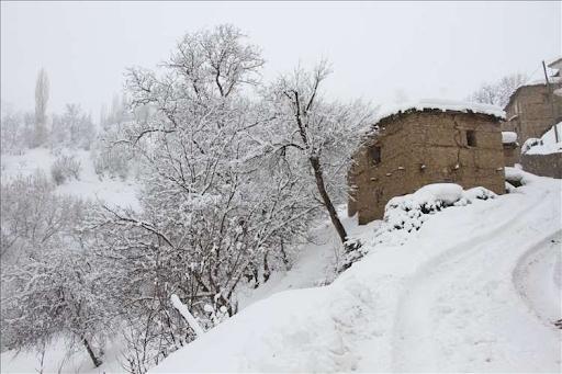 Batı Ermenistan'da masal gibi kış